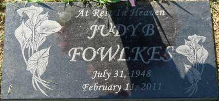 FOWLKES, JUDY B - Colbert County, Alabama | JUDY B FOWLKES - Alabama Gravestone Photos