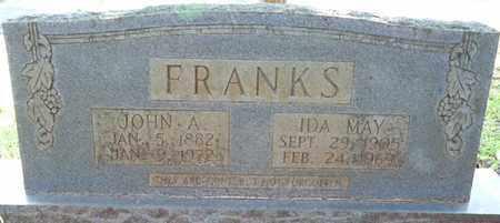 FRANKS, JOHN A - Colbert County, Alabama   JOHN A FRANKS - Alabama Gravestone Photos