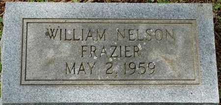 FRAZIER, WILLIAM NELSON - Colbert County, Alabama | WILLIAM NELSON FRAZIER - Alabama Gravestone Photos