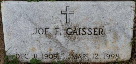 GAISSER, JOE F - Colbert County, Alabama | JOE F GAISSER - Alabama Gravestone Photos