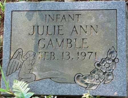 GAMBLE, JULIE ANN - Colbert County, Alabama   JULIE ANN GAMBLE - Alabama Gravestone Photos