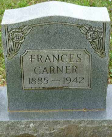 GARNER, FRANCES - Colbert County, Alabama | FRANCES GARNER - Alabama Gravestone Photos