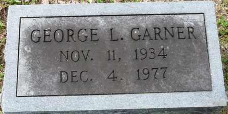GARNER, GEORGE L - Colbert County, Alabama | GEORGE L GARNER - Alabama Gravestone Photos