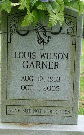 GARNER, LOUIS WILSON - Colbert County, Alabama | LOUIS WILSON GARNER - Alabama Gravestone Photos