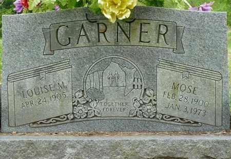 GARNER, MOSE - Colbert County, Alabama | MOSE GARNER - Alabama Gravestone Photos