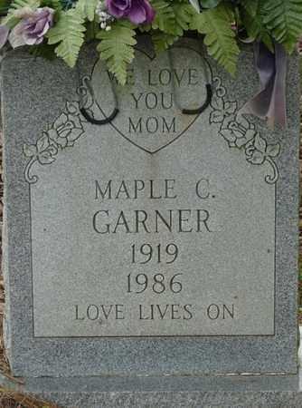 GARNER, MAPLE C - Colbert County, Alabama   MAPLE C GARNER - Alabama Gravestone Photos