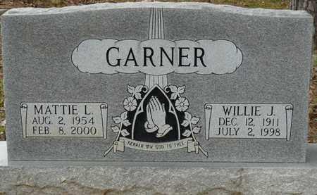GARNER, WILLIE J - Colbert County, Alabama | WILLIE J GARNER - Alabama Gravestone Photos