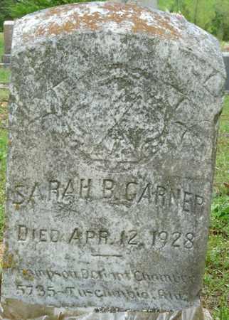 GARNER, SARAH B - Colbert County, Alabama | SARAH B GARNER - Alabama Gravestone Photos