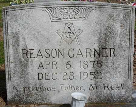 GARNER SR., REASON - Colbert County, Alabama | REASON GARNER SR. - Alabama Gravestone Photos