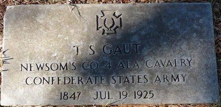 GAUT (VETERAN CSA), T.S. - Colbert County, Alabama   T.S. GAUT (VETERAN CSA) - Alabama Gravestone Photos