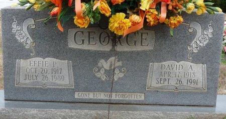 GEORGE, EFFIE PARALEE - Colbert County, Alabama | EFFIE PARALEE GEORGE - Alabama Gravestone Photos