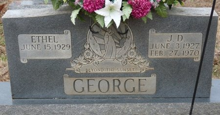 GEORGE, J.D. - Colbert County, Alabama | J.D. GEORGE - Alabama Gravestone Photos