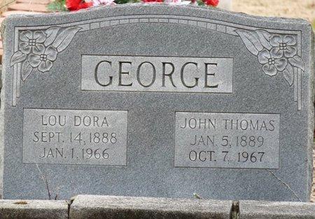 GEORGE, JOHN THOMAS - Colbert County, Alabama | JOHN THOMAS GEORGE - Alabama Gravestone Photos