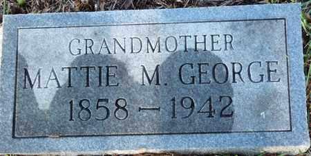 GEORGE, MATTIE M - Colbert County, Alabama | MATTIE M GEORGE - Alabama Gravestone Photos