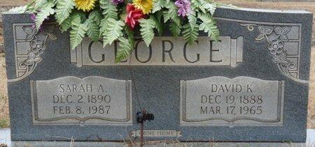 GEORGE, SARAH ANNA - Colbert County, Alabama | SARAH ANNA GEORGE - Alabama Gravestone Photos