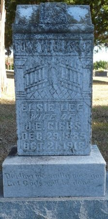 GIBBS, ELSIE LEE - Colbert County, Alabama | ELSIE LEE GIBBS - Alabama Gravestone Photos