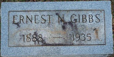 GIBBS, ERNEST N - Colbert County, Alabama | ERNEST N GIBBS - Alabama Gravestone Photos