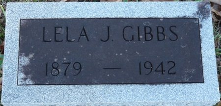 GIBBS, LELA J - Colbert County, Alabama   LELA J GIBBS - Alabama Gravestone Photos