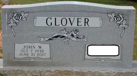 GLOVER, JOHN W - Colbert County, Alabama   JOHN W GLOVER - Alabama Gravestone Photos