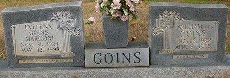 GOINS, WILLIAM L - Colbert County, Alabama   WILLIAM L GOINS - Alabama Gravestone Photos