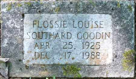 SOUTHARD GOODIN, FLOSSIE LOUISE - Colbert County, Alabama | FLOSSIE LOUISE SOUTHARD GOODIN - Alabama Gravestone Photos