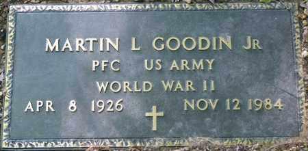 GOODIN JR. (VETERAN WWII), MARTIN L - Colbert County, Alabama | MARTIN L GOODIN JR. (VETERAN WWII) - Alabama Gravestone Photos