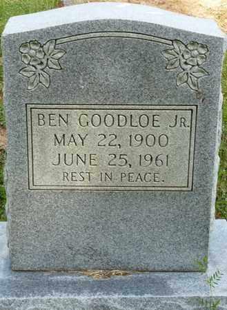 GOODLOE JR., BEN - Colbert County, Alabama | BEN GOODLOE JR. - Alabama Gravestone Photos