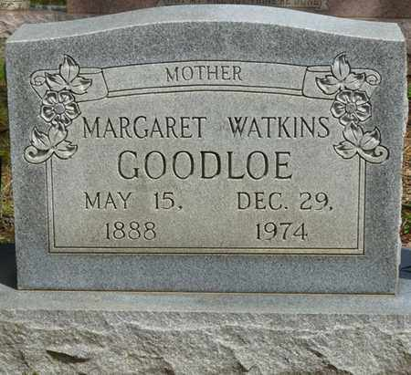 WATKINS GOODLOE, MARGARET - Colbert County, Alabama | MARGARET WATKINS GOODLOE - Alabama Gravestone Photos