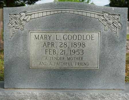GOODLOE, MARY L - Colbert County, Alabama | MARY L GOODLOE - Alabama Gravestone Photos