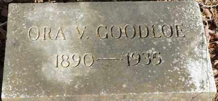 GOODLOE, ORA V - Colbert County, Alabama | ORA V GOODLOE - Alabama Gravestone Photos
