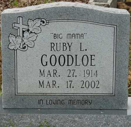 GOODLOE, RUBY L - Colbert County, Alabama | RUBY L GOODLOE - Alabama Gravestone Photos