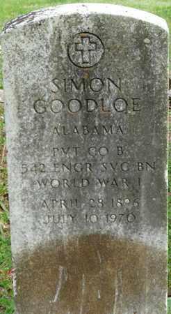 GOODLOE (VETERAN WWI), SIMON - Colbert County, Alabama   SIMON GOODLOE (VETERAN WWI) - Alabama Gravestone Photos