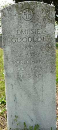GOODLOE (VETERAN WWII), EMPSIE - Colbert County, Alabama | EMPSIE GOODLOE (VETERAN WWII) - Alabama Gravestone Photos
