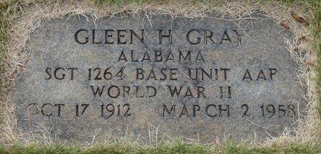 GRAY (VETERAN WWII), GLENN H - Colbert County, Alabama | GLENN H GRAY (VETERAN WWII) - Alabama Gravestone Photos