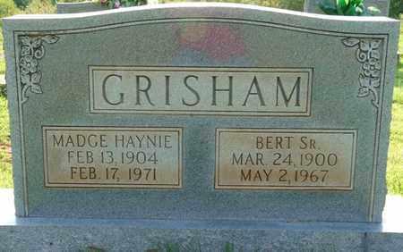HAYNIE GRISHAM, MADGE - Colbert County, Alabama   MADGE HAYNIE GRISHAM - Alabama Gravestone Photos