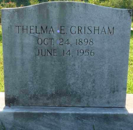 GRISHAM, THELMA E - Colbert County, Alabama   THELMA E GRISHAM - Alabama Gravestone Photos