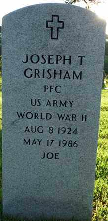 "GRISHAM (VETERAN WWII), JOSEPH T ""JOE"" - Colbert County, Alabama 