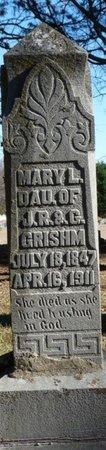 GRISSHOM, MARY L - Colbert County, Alabama | MARY L GRISSHOM - Alabama Gravestone Photos
