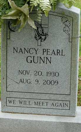 GUNN, NANCY PEARL - Colbert County, Alabama | NANCY PEARL GUNN - Alabama Gravestone Photos