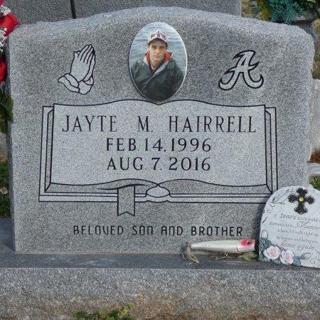 HAIRRELL, JAYTE M - Colbert County, Alabama   JAYTE M HAIRRELL - Alabama Gravestone Photos