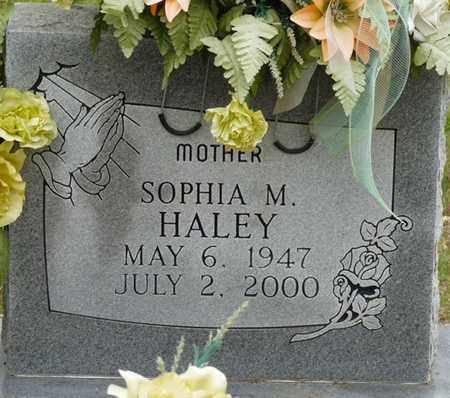 HALEY, SOPHIA M - Colbert County, Alabama | SOPHIA M HALEY - Alabama Gravestone Photos