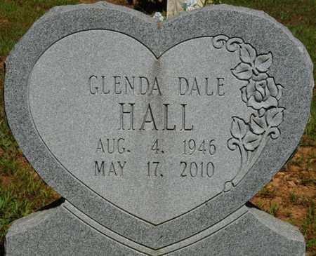HALL, GLENDA DALE - Colbert County, Alabama   GLENDA DALE HALL - Alabama Gravestone Photos