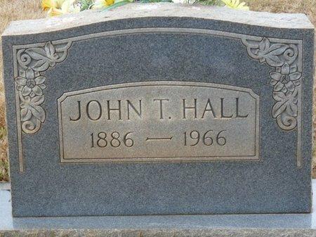 HALL, JOHN T - Colbert County, Alabama | JOHN T HALL - Alabama Gravestone Photos