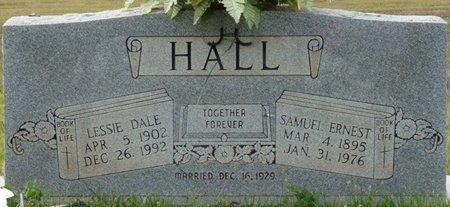 HALL, LESSIE DALE - Colbert County, Alabama | LESSIE DALE HALL - Alabama Gravestone Photos