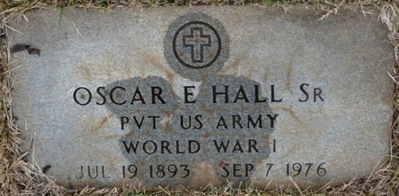 HALL SR. (VETERAN WWI), OSCAR - Colbert County, Alabama | OSCAR HALL SR. (VETERAN WWI) - Alabama Gravestone Photos
