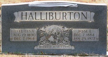 HALLIBURTON, EVEL LENA - Colbert County, Alabama | EVEL LENA HALLIBURTON - Alabama Gravestone Photos