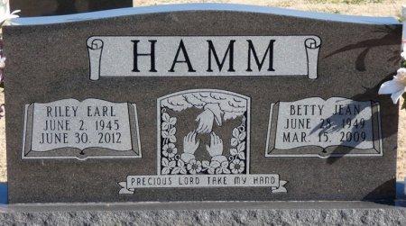 HAMM, RILEY EARL - Colbert County, Alabama | RILEY EARL HAMM - Alabama Gravestone Photos