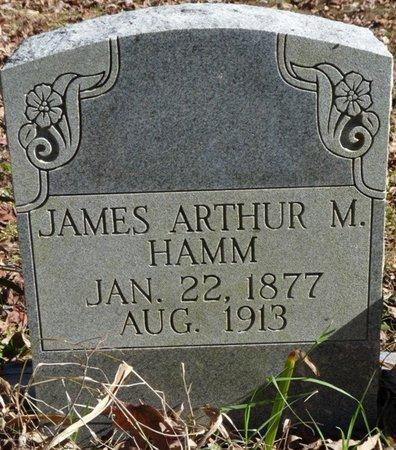 HAMM, JAMES ARTHUR M - Colbert County, Alabama   JAMES ARTHUR M HAMM - Alabama Gravestone Photos