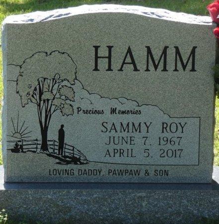 HAMM, SAMMY ROY - Colbert County, Alabama | SAMMY ROY HAMM - Alabama Gravestone Photos