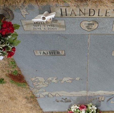 HANDLEY, DOYLE R - Colbert County, Alabama | DOYLE R HANDLEY - Alabama Gravestone Photos